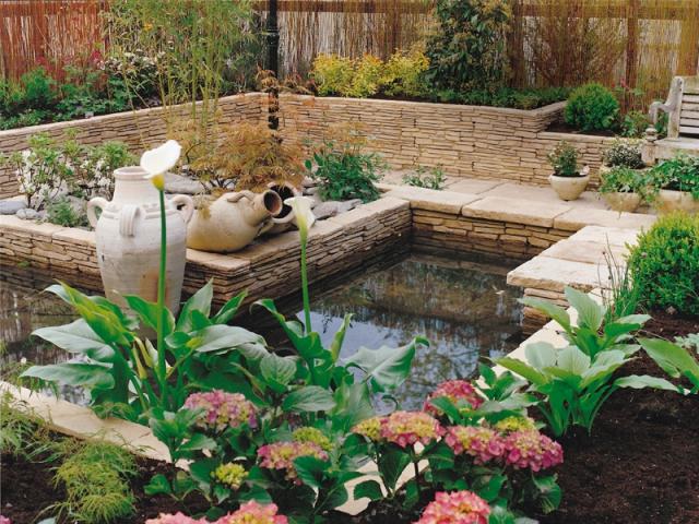 inspirations un bassin pour mon jardin. Black Bedroom Furniture Sets. Home Design Ideas
