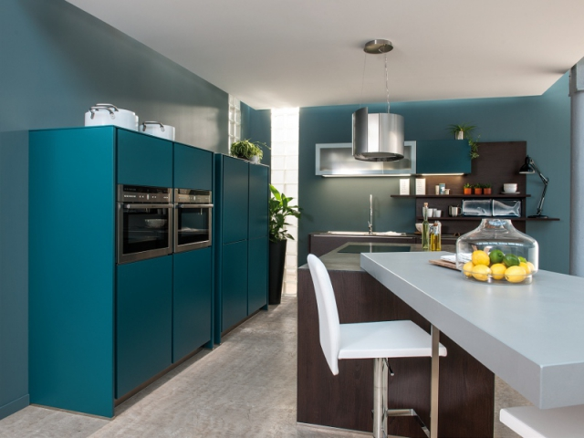 Bleu Canard Total Look Dans Toute La Maison