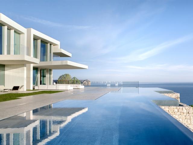Une villa alicante avec vue sur mer for Piani di lusso sul lungomare