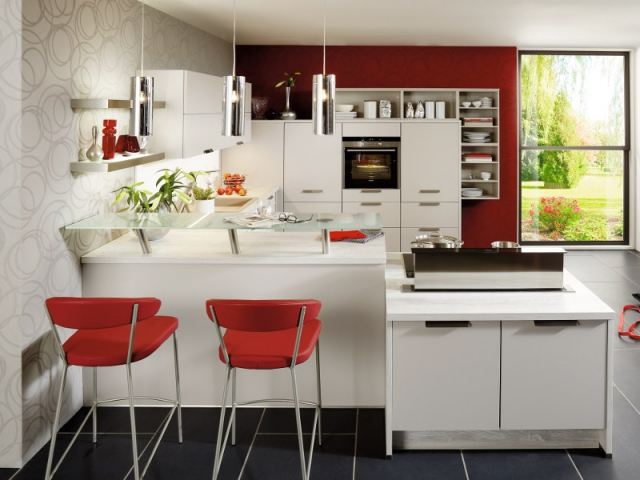 Am nager une cuisine solutions pour optimiser l 39 espace for Petit espace cuisine salon
