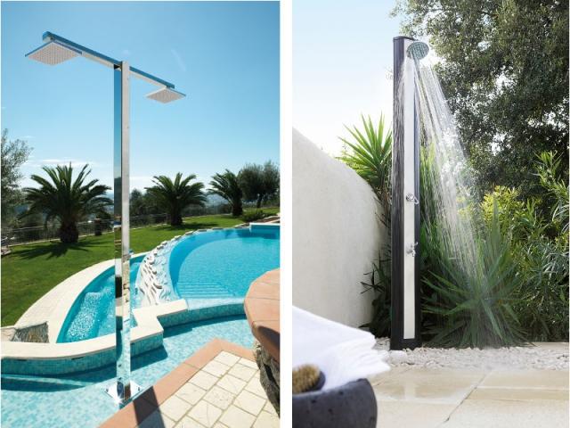 10 douches de jardin pour rester au frais cet t. Black Bedroom Furniture Sets. Home Design Ideas