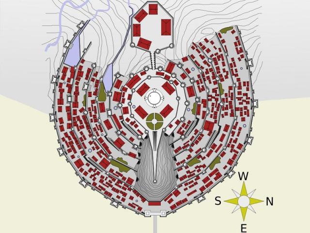 Minas Tirith plan