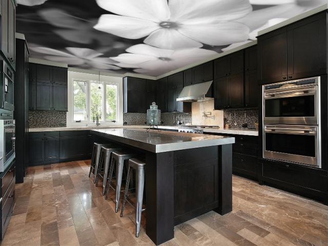 Am nager son int rieur 10 id es pour un plafond original - Plafond de cuisine design ...