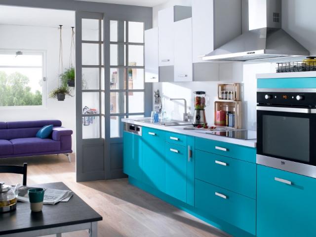 10 astuces pour agrandir une petite cuisine - Astuce pour amenager petite cuisine ...