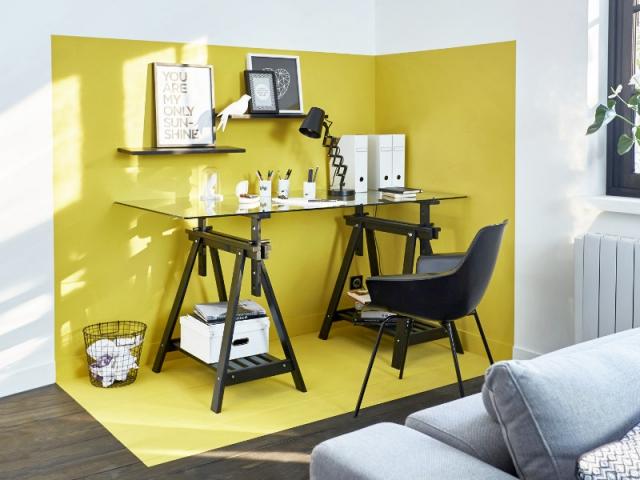Bureau chambre castorama perfekt separation cloison bureau bois