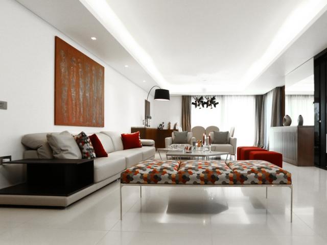 1 rez de jardin aussi grand et lumineux qu 39 une maison. Black Bedroom Furniture Sets. Home Design Ideas