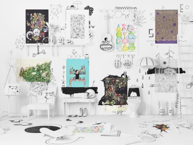 Les meubles IKEA détournés par des artistes