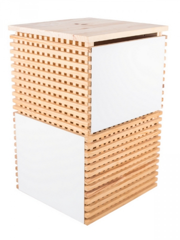 Une table de chevet purificatrice d'air