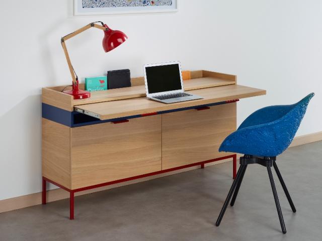 le bureau vivre nouveau concept pour travailler en toute discr tion la maison. Black Bedroom Furniture Sets. Home Design Ideas