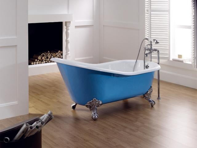 La baignoire en pièce centrale