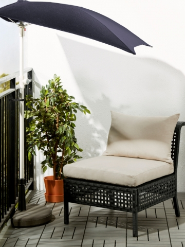 petit balcon 10 astuces gain de place. Black Bedroom Furniture Sets. Home Design Ideas