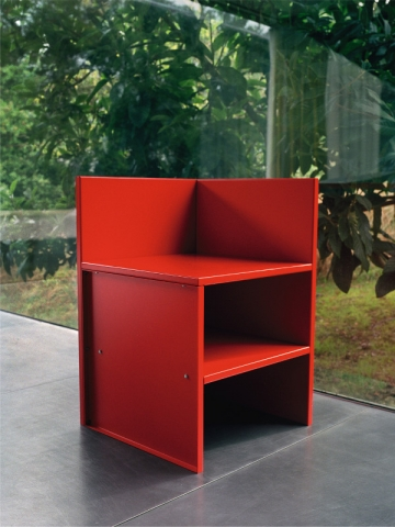 Donald Judd, Corner Chair, 1984