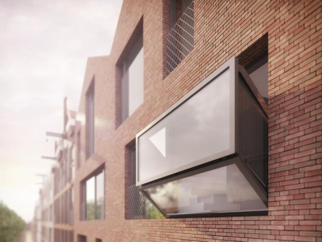 Un véritable balcon rétractable entièrement vitré