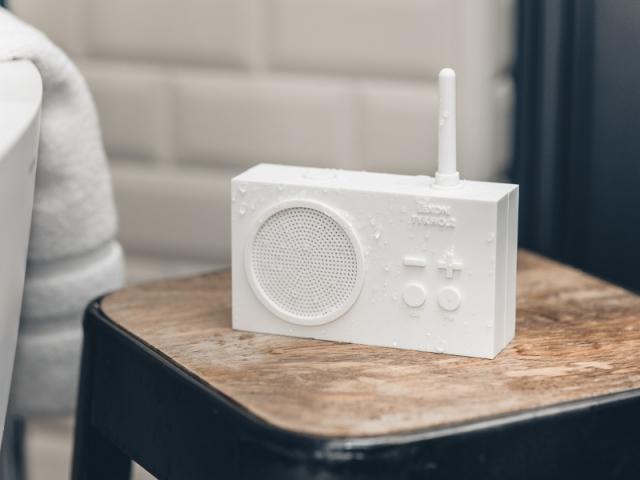 Une radio 100 % étanche
