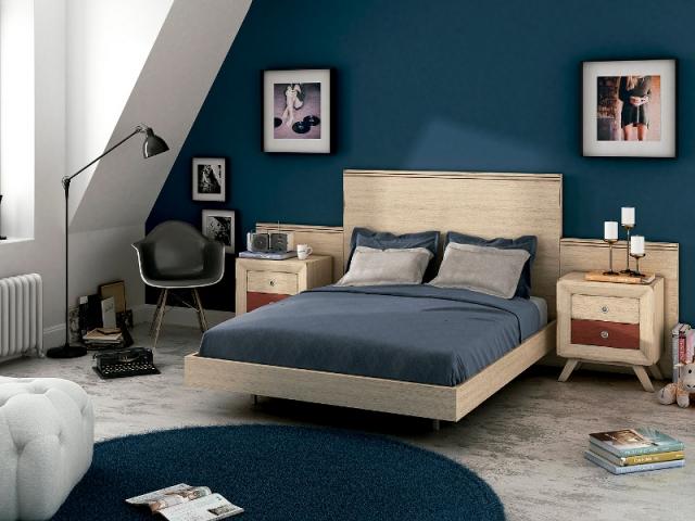 Une tête de lit contemporaine