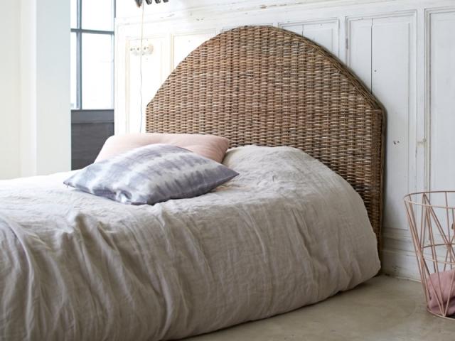 Une tête de lit bohème chic