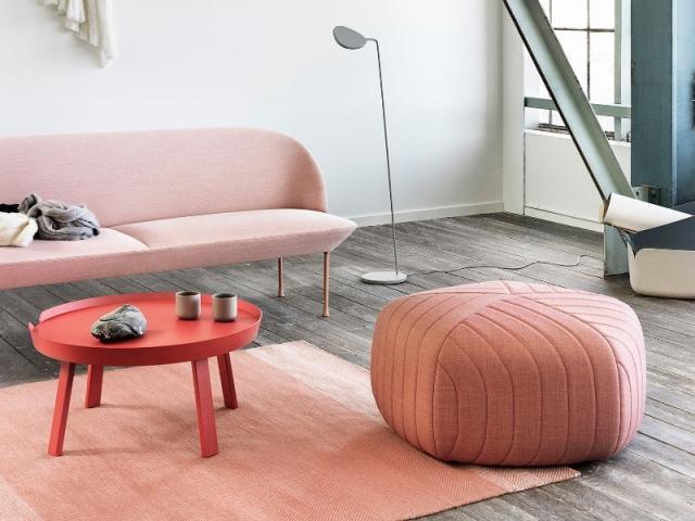 Un canapé gourmand couleur dragée
