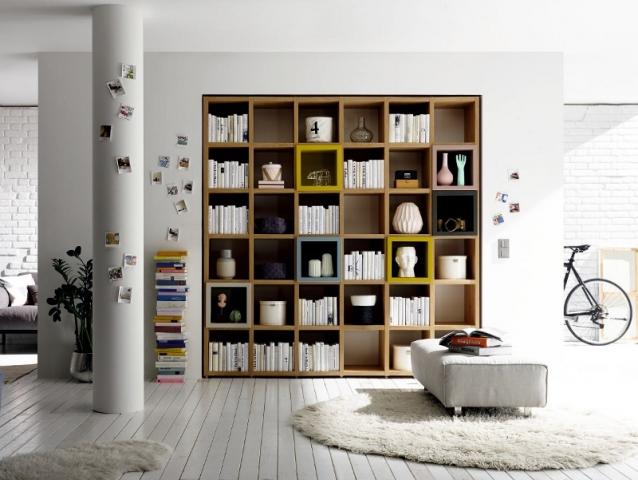 Un meuble encastré pour accueillir ses ouvrages