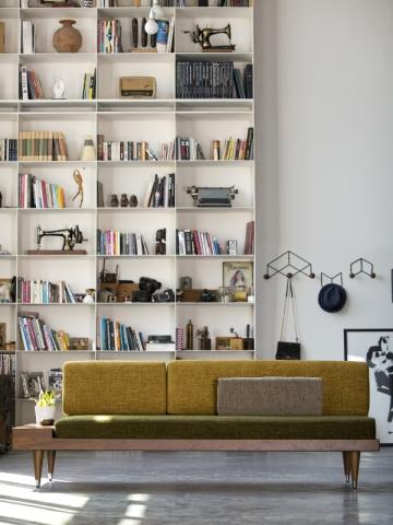 Des livres comme des objets décoratifs