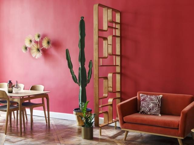 Un claustra design et seventies