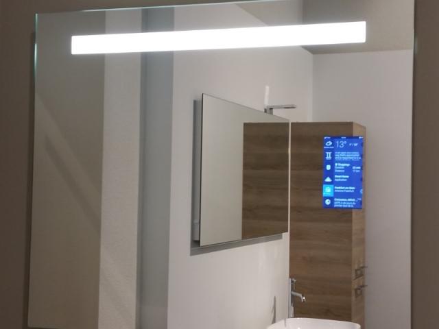 Le miroir connecté signé Saint-Gobain