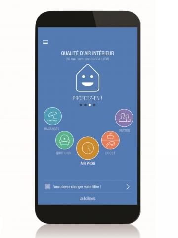 L'application EasyHome PureAir