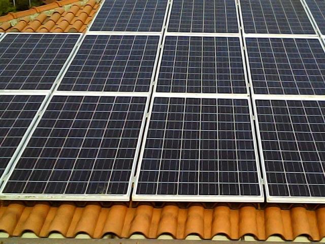 Installation d'une puissance totale de 4 kW