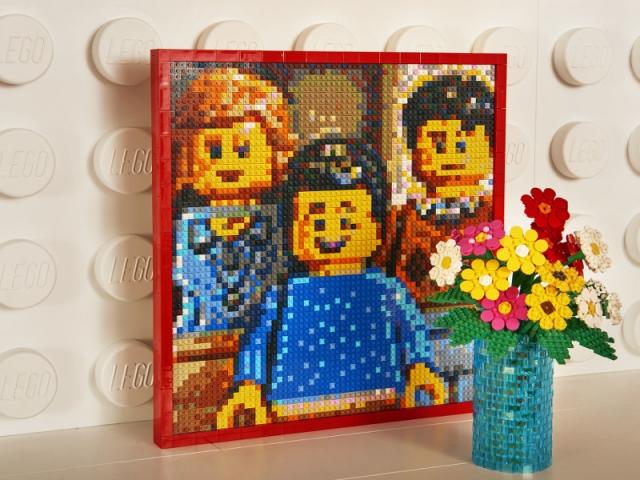 les têtes jaunes : le symbole de LEGO