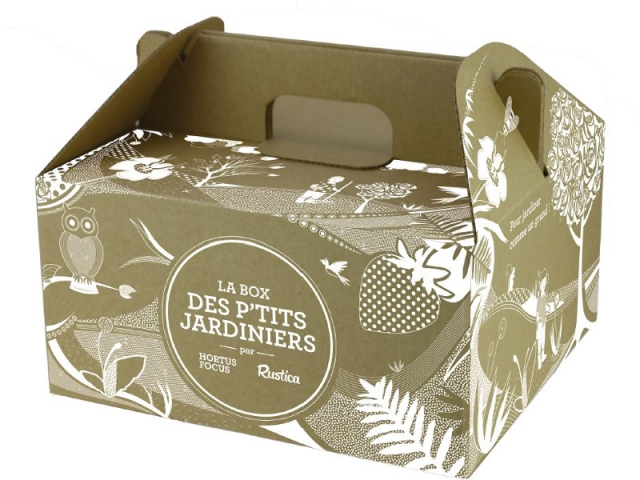La box des p'tits jardiniers est vendue à 20 €