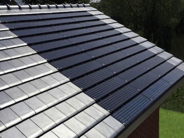 Tuiles Solaires Lumineuses Ultra Plates La Toiture