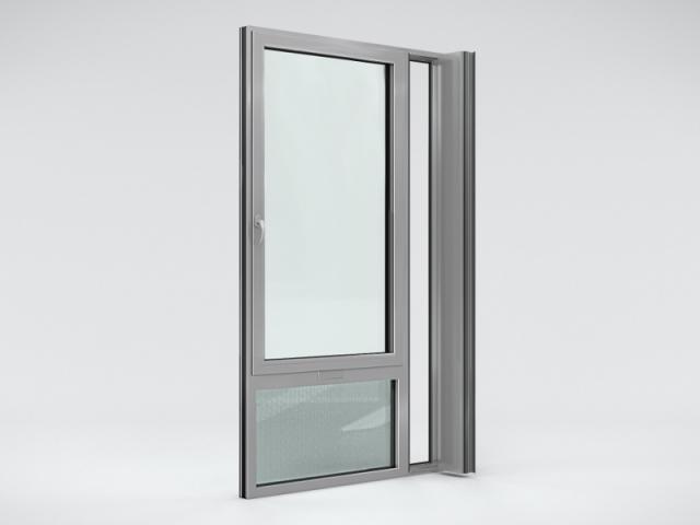 Fenêtre autonome ouverte
