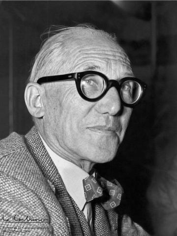 Portrait de Le Corbusier (1887-1965)
