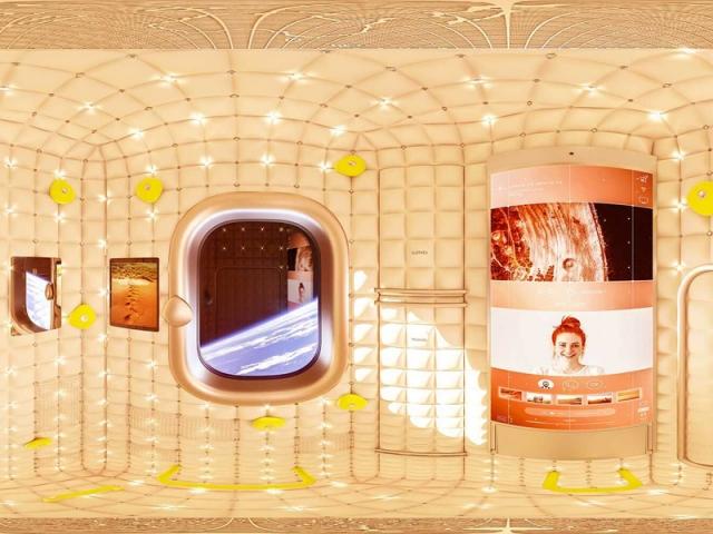 Une capsule grand luxe signée Philippe Starck pour voyager dans l'espace