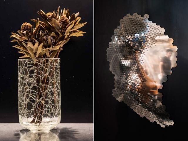 Les créations en verre de A Studio Design et ChromeScape par Paul Coudamy