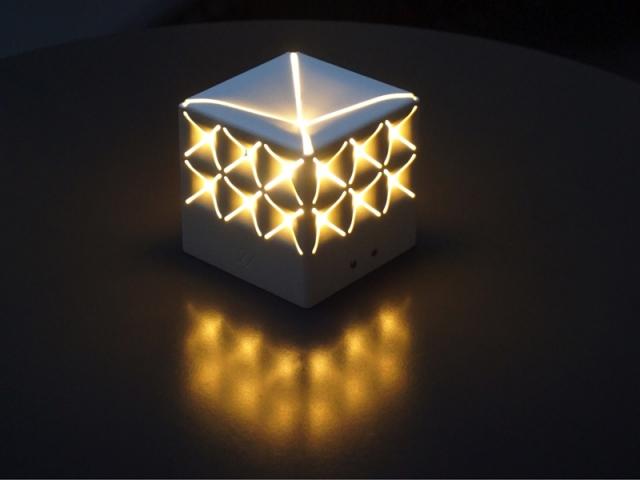 Lampe PopUp équipée du nouveau module Solaire Hybride