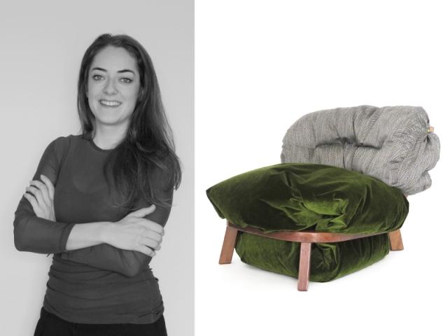 Anastasia Nysten et sa création Troll Chair