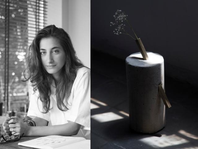 Paola Sakr et ses vases Impermanence fabriqués à partir de carotte de béton