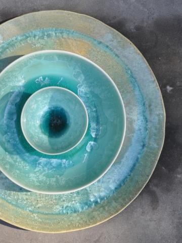 Céramique et émaux de cristallisation