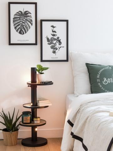 La lampe de chevet conçue par Laura Capuano
