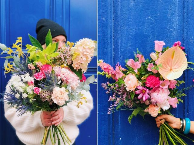 Bouquets Pampa, disponibles en 3 tailles à partir de 39,90 €, abonnements à partir de 118 € pour 3 mois