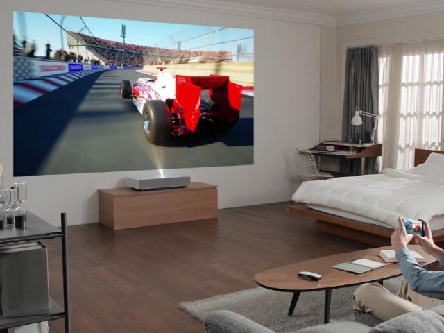 Les vidéoprojecteurs à courte focale font le show au CES Las Vegas 2019