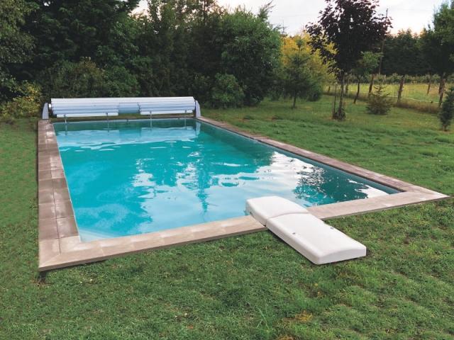 Un concept de piscine en kit à monter soi-même en 6 étapes