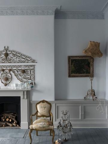 Un exemple de tons gris faciles à vivre, une famille de neutres en peinture