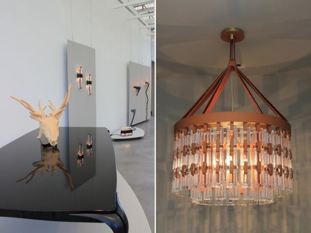 Les oeuvres de Paul Mathieu exposées au Château La Coste