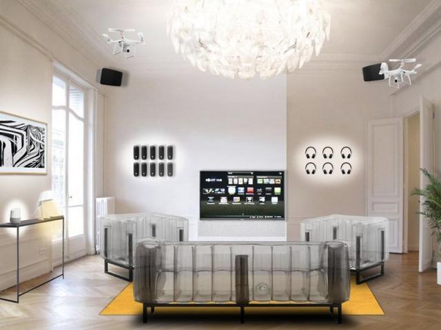 L'Appartement du futur signé Fnac Darty