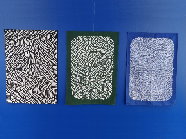Trois foulards signés Ionna Vautrin dans la collection Nest à paraître à la rentrée 2019