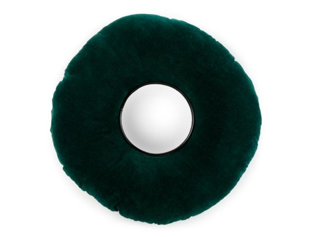 Miroir vert, 30 €, tiré de la collection Nest signée Ionna Vautrin