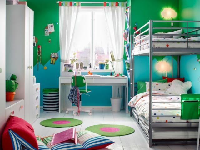 1 chambre, 2 enfants, 18 idées pour partager l\'espace