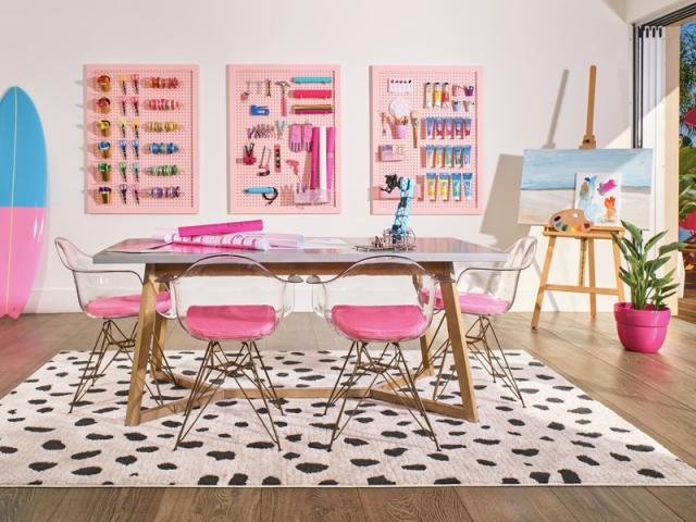 La salle à manger de Barbie