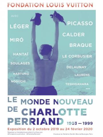 """""""Le monde nouveau de Charlotte Perriand"""" - Du 2 octobre 2019 au 24 février 2020"""